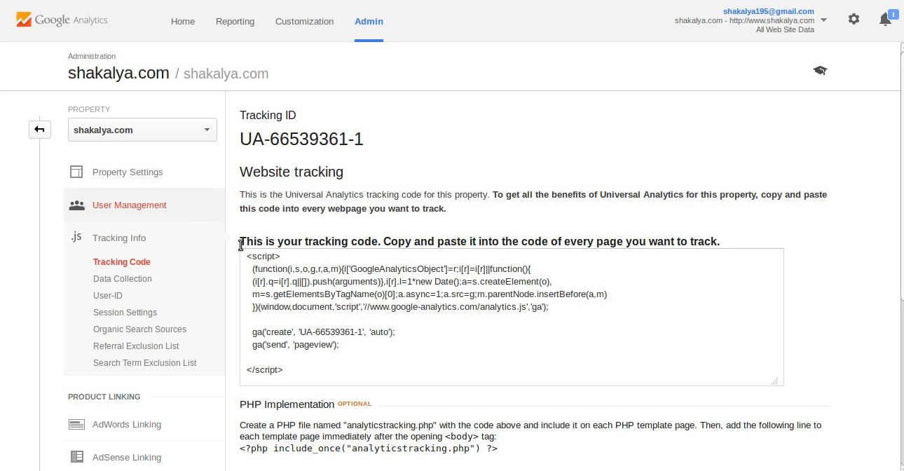 Google-Analytic-code